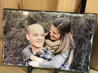 Custom Photo Slate - Product Image