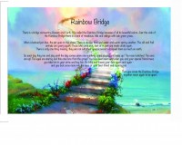 Pet Memorial Pet Memorial Stones Rainbow Bridge Poem