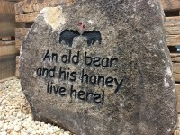 Pre-Carved Old Bear Rock - Product Image