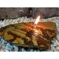 Smoky Mountain Oil Stone Candle - Product Image