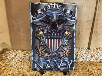 Navy Military Picture Slate - Product Image