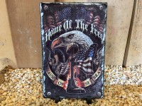 Home Of The Free Military Picture Slate - Product Image