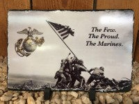 Marines Military Picture Slate - Product Image